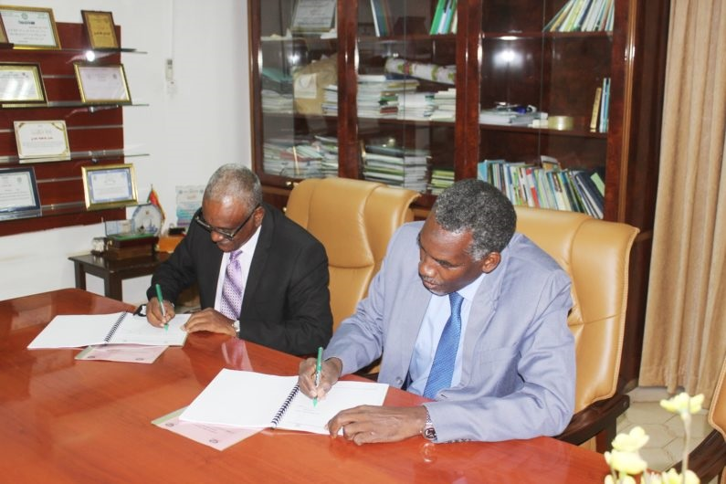 Transfer of tasks from the previous administration to the new administration of the University of Bahri