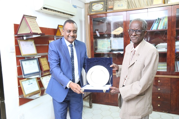 The University Honours Professor Khabir