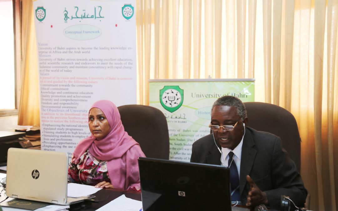 University of Bahri's Participation in the meeting of International Livestock Research Institute (ILRI)