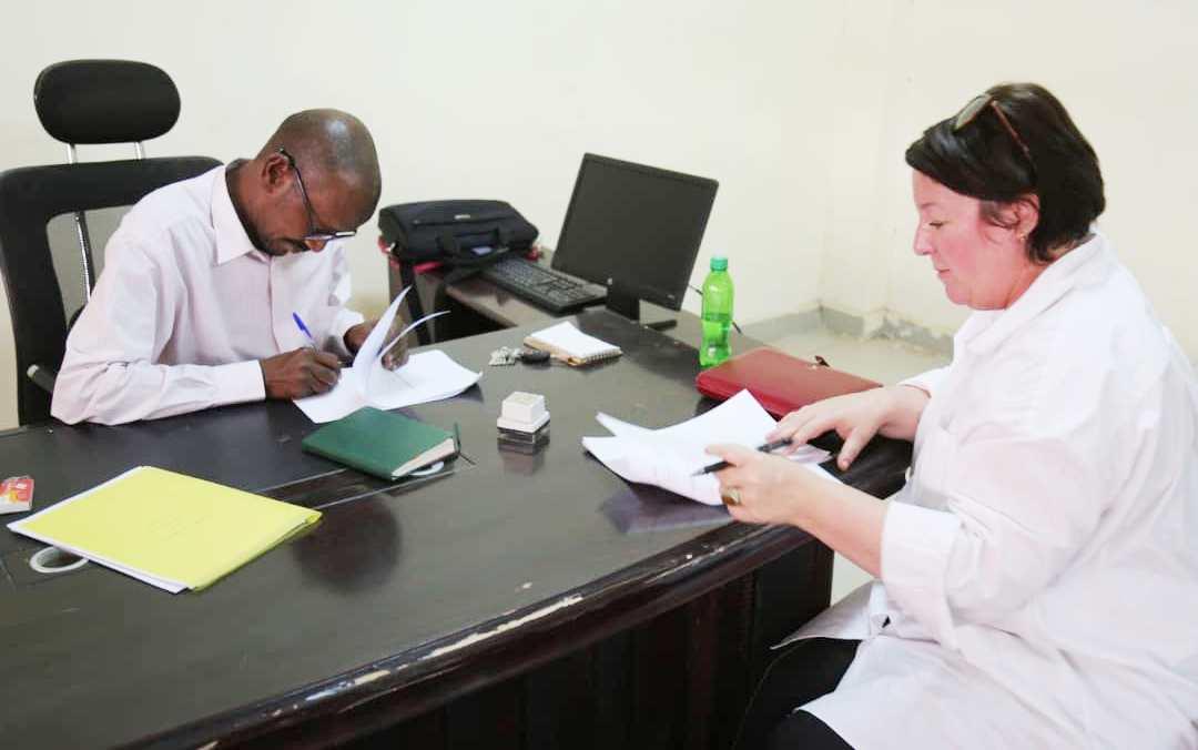 Signing a Memorandum between University of Bahri and a German Institution